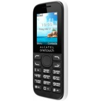 Alcatel 1052D pure white Мобильный телефон
