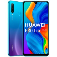 Huawei P30 lite 6/256Gb New Edition peacock blue (MAR-LX1B) RUS Смартфон