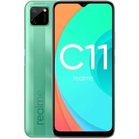 Realme C11 2/32Gb mint green (RMX2185) RUS Смартфон