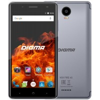 Digma Vox FIRE 4G 8Gb grey Смартфон