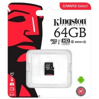 Kingston micro-sd 64Gb (без адаптера) /класс 10/ Карта памяти