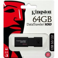 Kingston 64GB DT100 G3 usb-флеш 3.0
