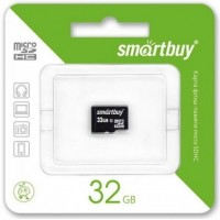 Smart Buy micro-sd 32Gb (без адаптера) /класс 4/ Карта памяти