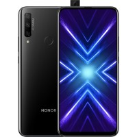 Honor 9X 4/128Gb RUS1 midnight black Смартфон