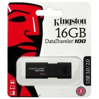 Kingston 16Gb DT100G3 usb-флеш USB 3.0