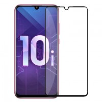 Защитное стекло Huawei Honor 10i/10 Lite/P Smart 2019/P30 Lite full (black) 9D техпак
