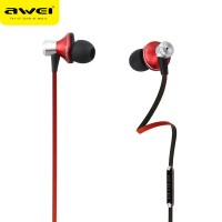 Гарнитура AWEI ES850hi-RED Super Bass (красная)