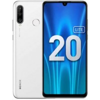 Honor 20 Lite 4/128Gb pearl white RUS Смартфон