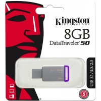 Kingston 8Gb DT50 usb-флеш 3.0