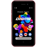 Digma Hit Q401 red Смартфон
