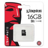 Kingston micro-sd 16Gb (без адаптера) /класс 10/ Карта памяти