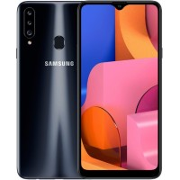 Samsung Galaxy A20s 3/32Gb (черный) RUS Смартфон