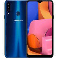 Samsung Galaxy A20s 3/32Gb (синий) RUS Смартфон