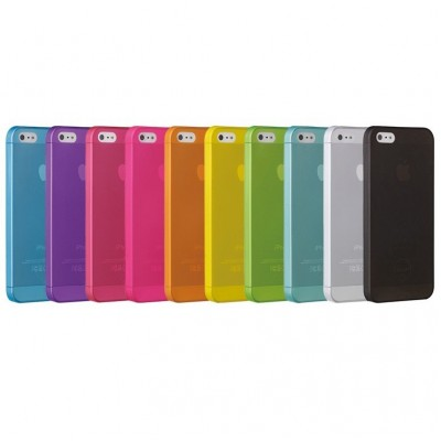 Задняя накладка iPhone 4/4S Nylon Brera Slim (желтая)