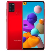 Samsung Galaxy A21s 3/32Gb red RUS Смартфон